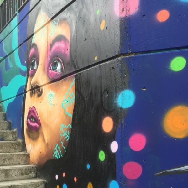 Street art in Medellín