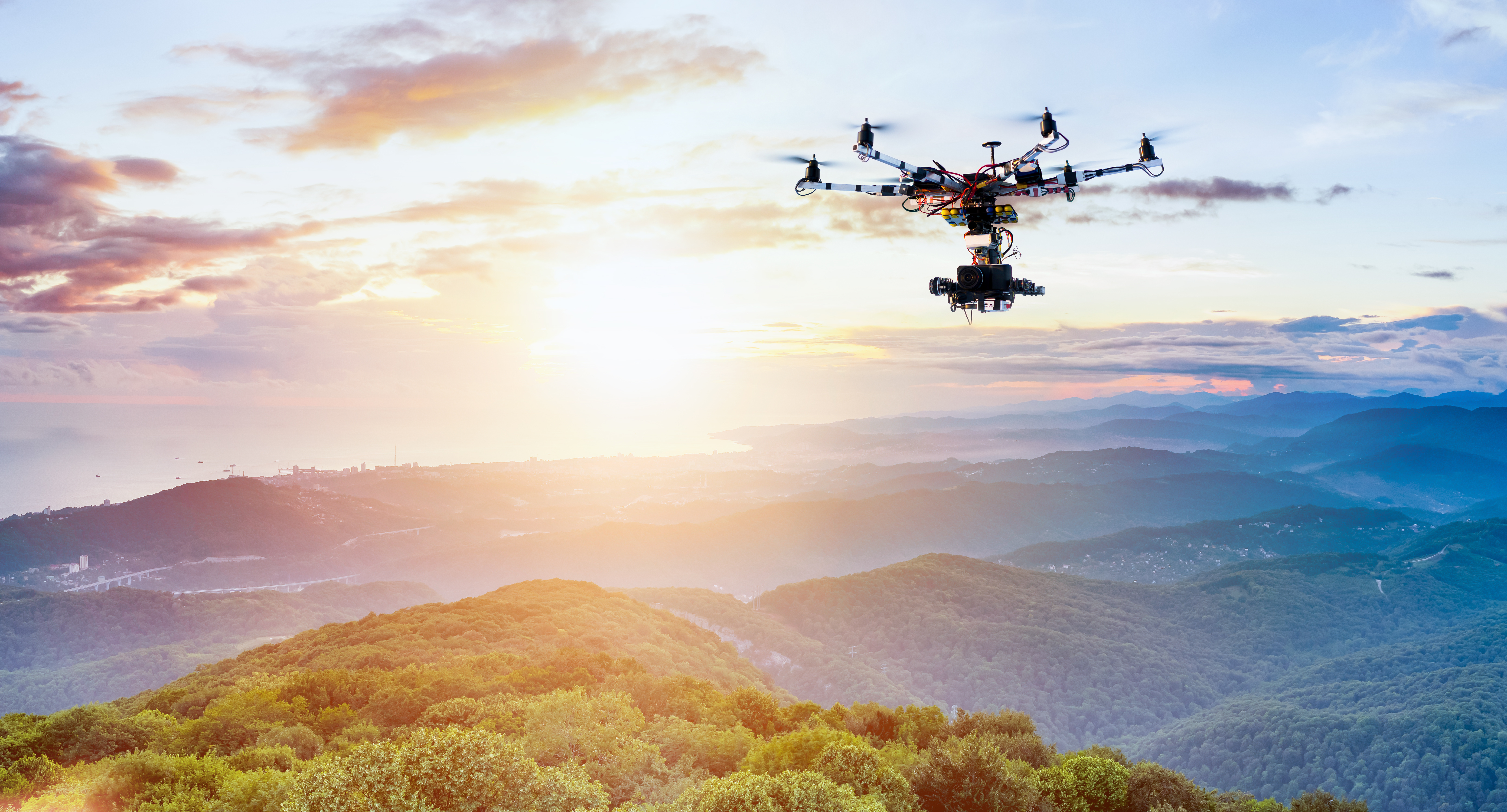 drone-delivery-flying-over-mountains