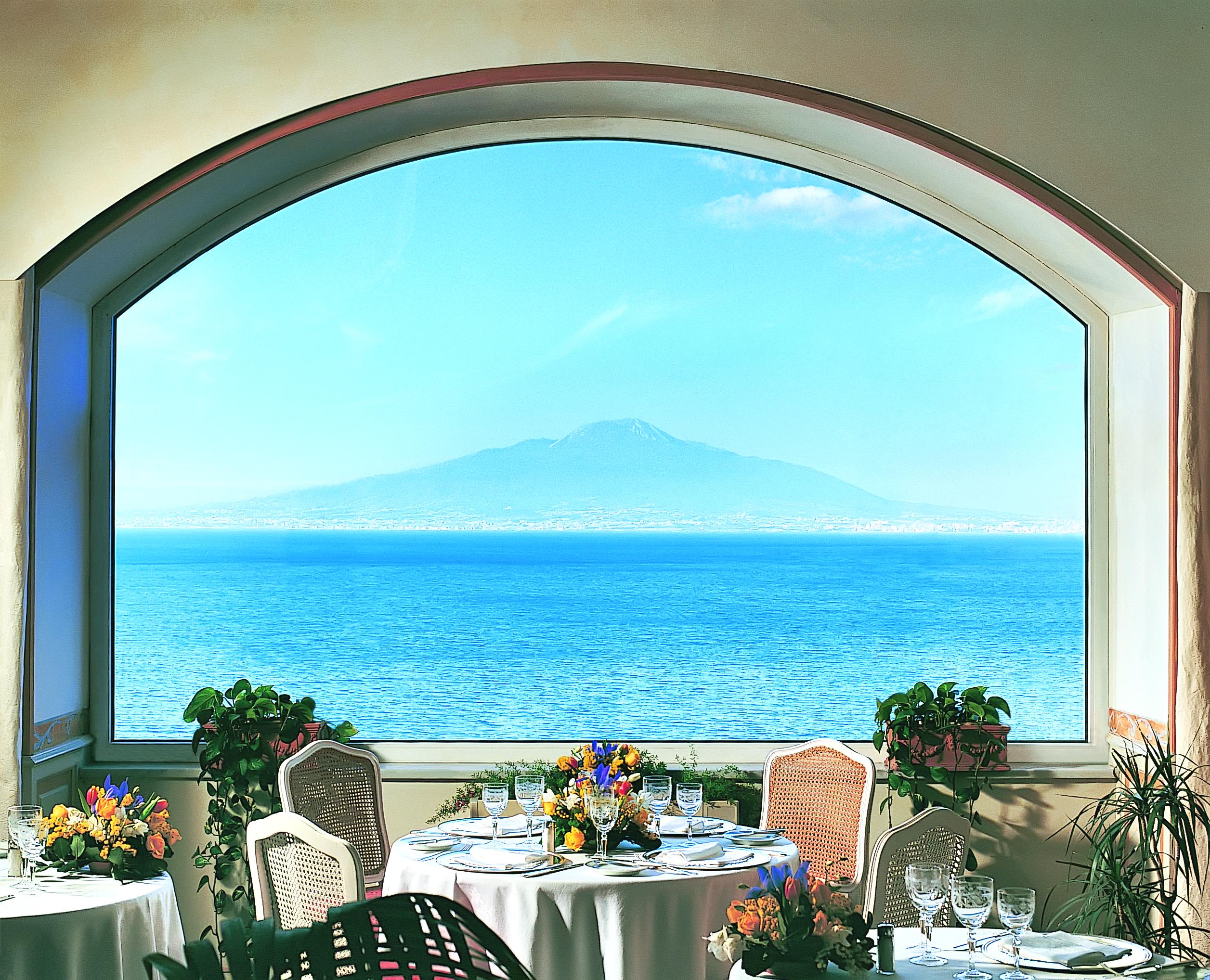 Grand Hotel Excelsior Vittoria Sorrento Bosquet Restaurant