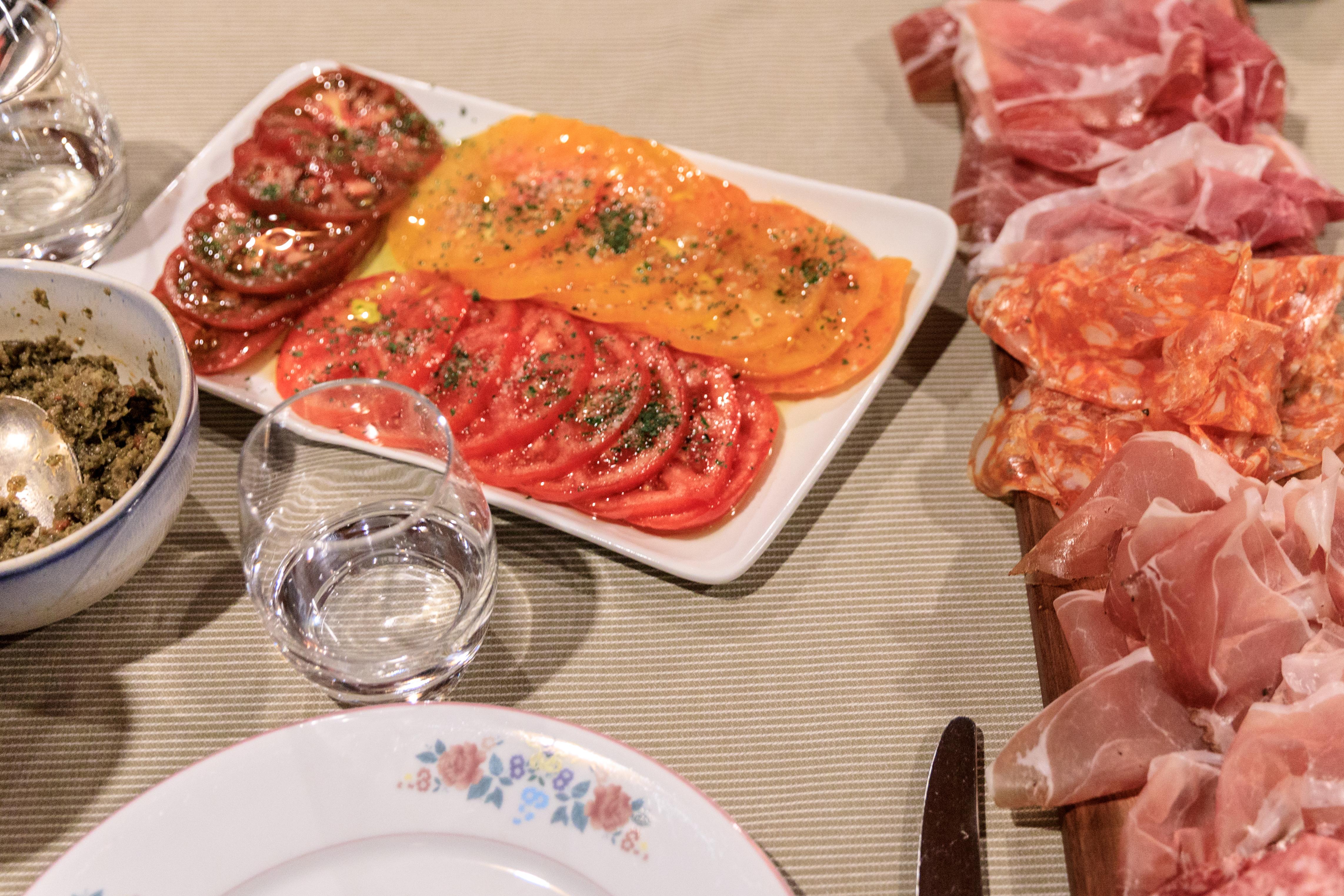 La-Chaumiere-Restaurant-Nice-Monaco-France-starters-food-menu
